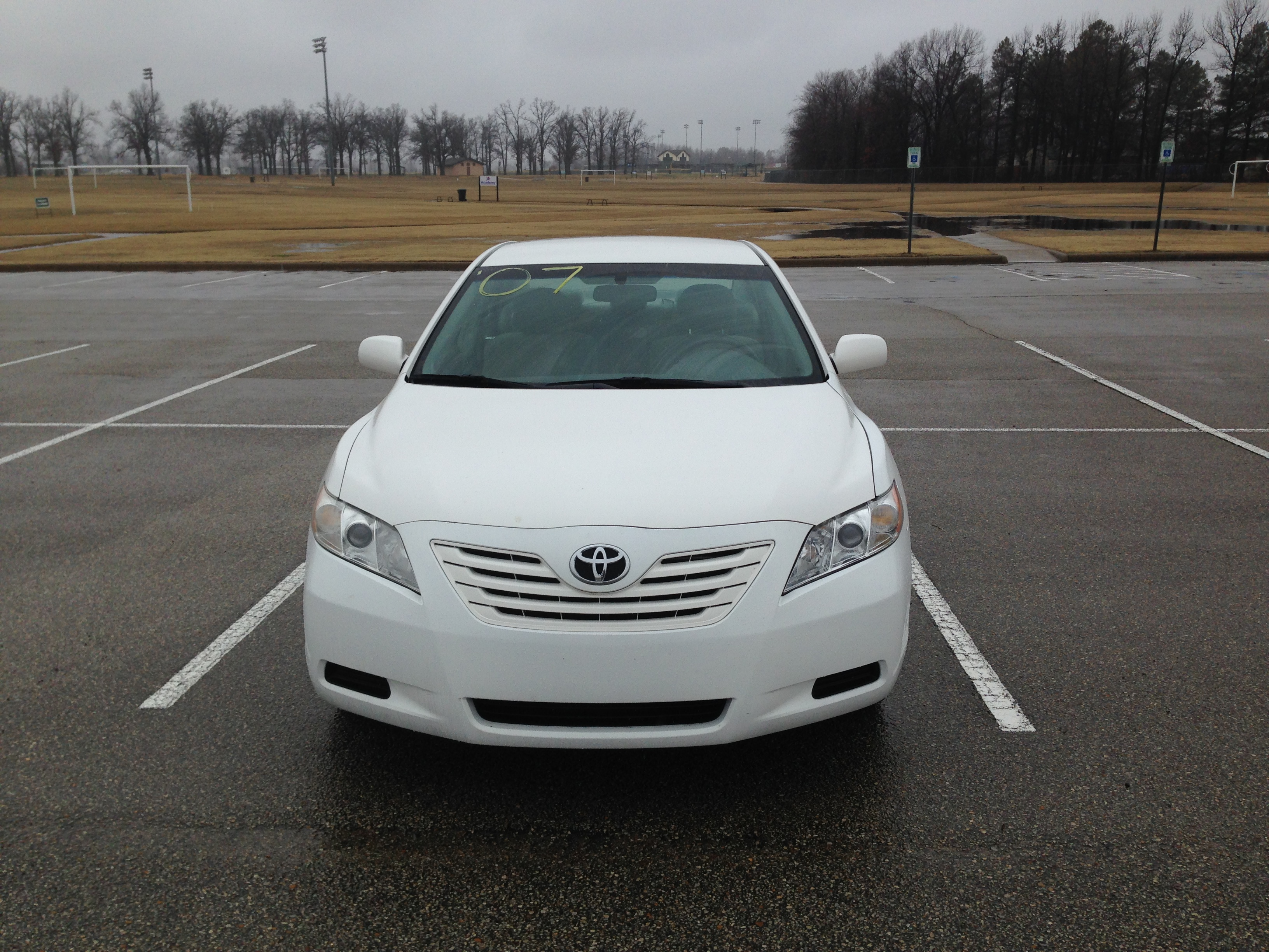white 2007 toyota camry j l auto sales. Black Bedroom Furniture Sets. Home Design Ideas