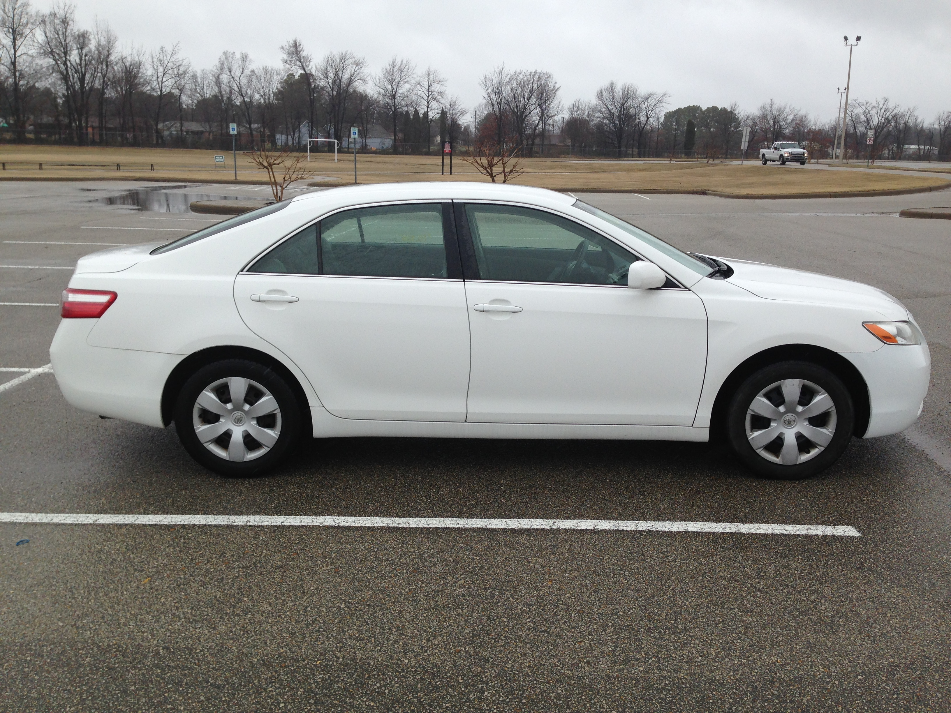 2005 Toyota Camry Le >> White 2007 Toyota Camry | J & L Auto Sales