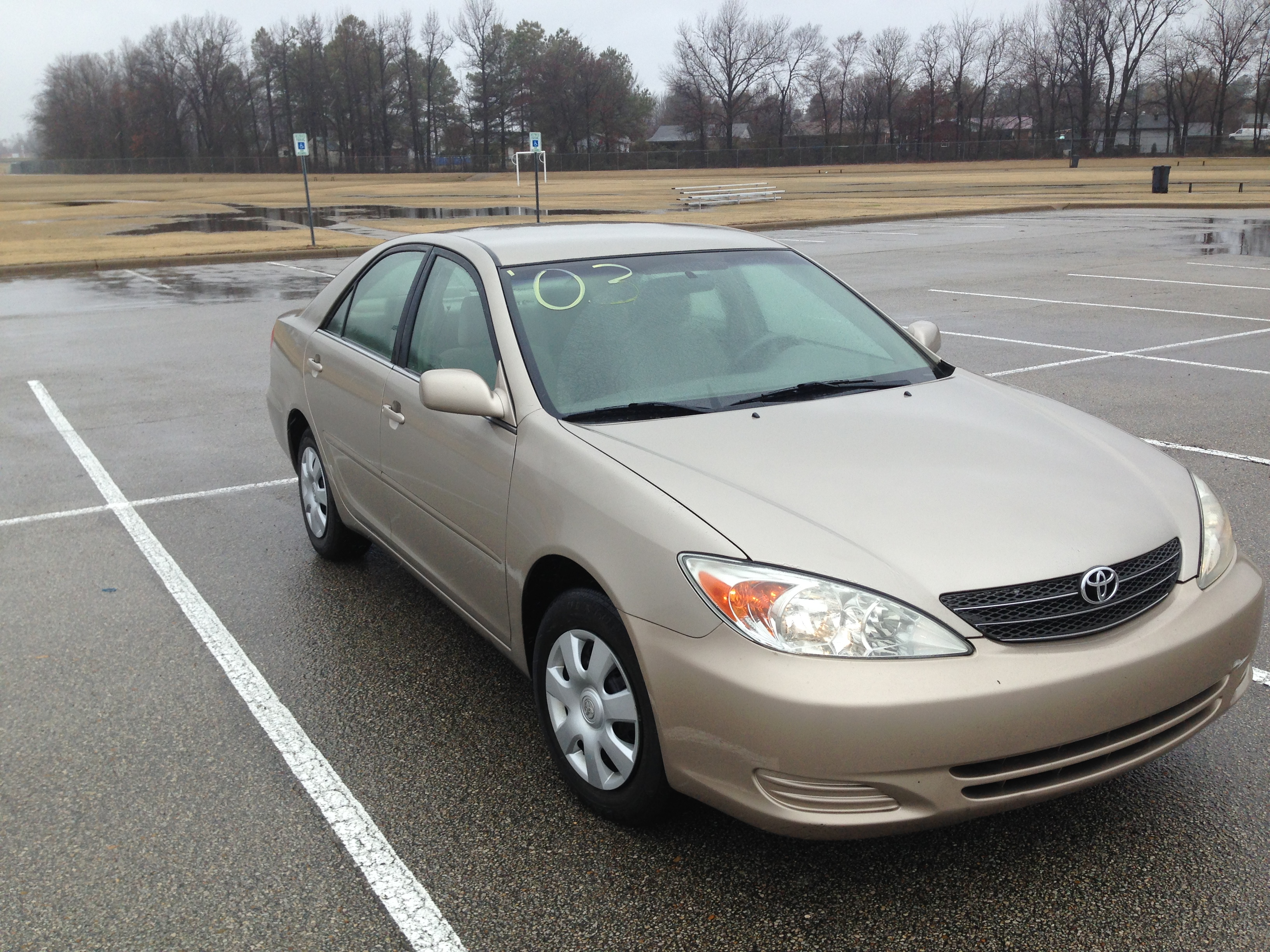 Gold 2003 Toyota Camry Sold J Amp L Auto Sales