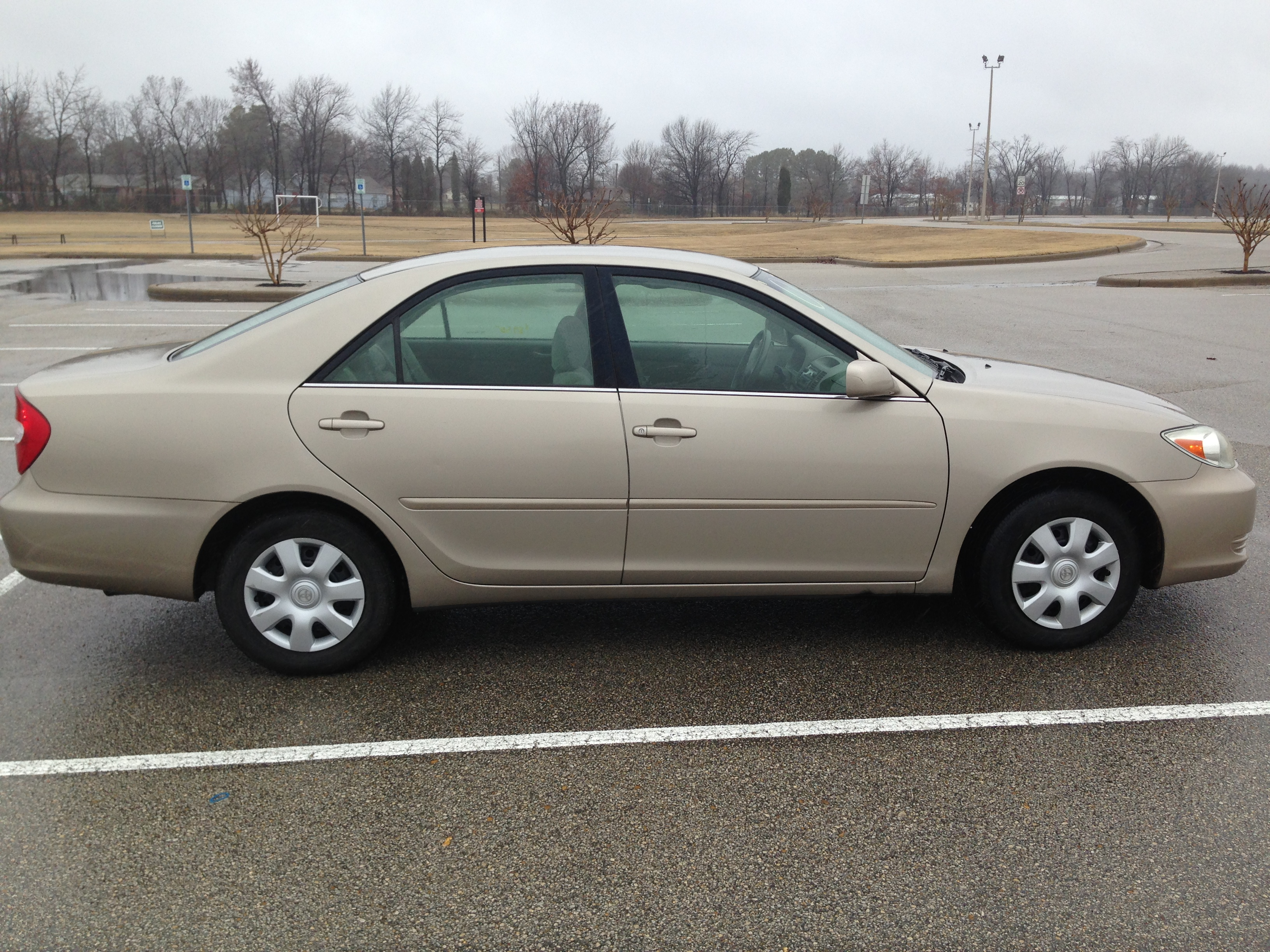 Gold 2003 Toyota Camry (SOLD) | J & L Auto Sales