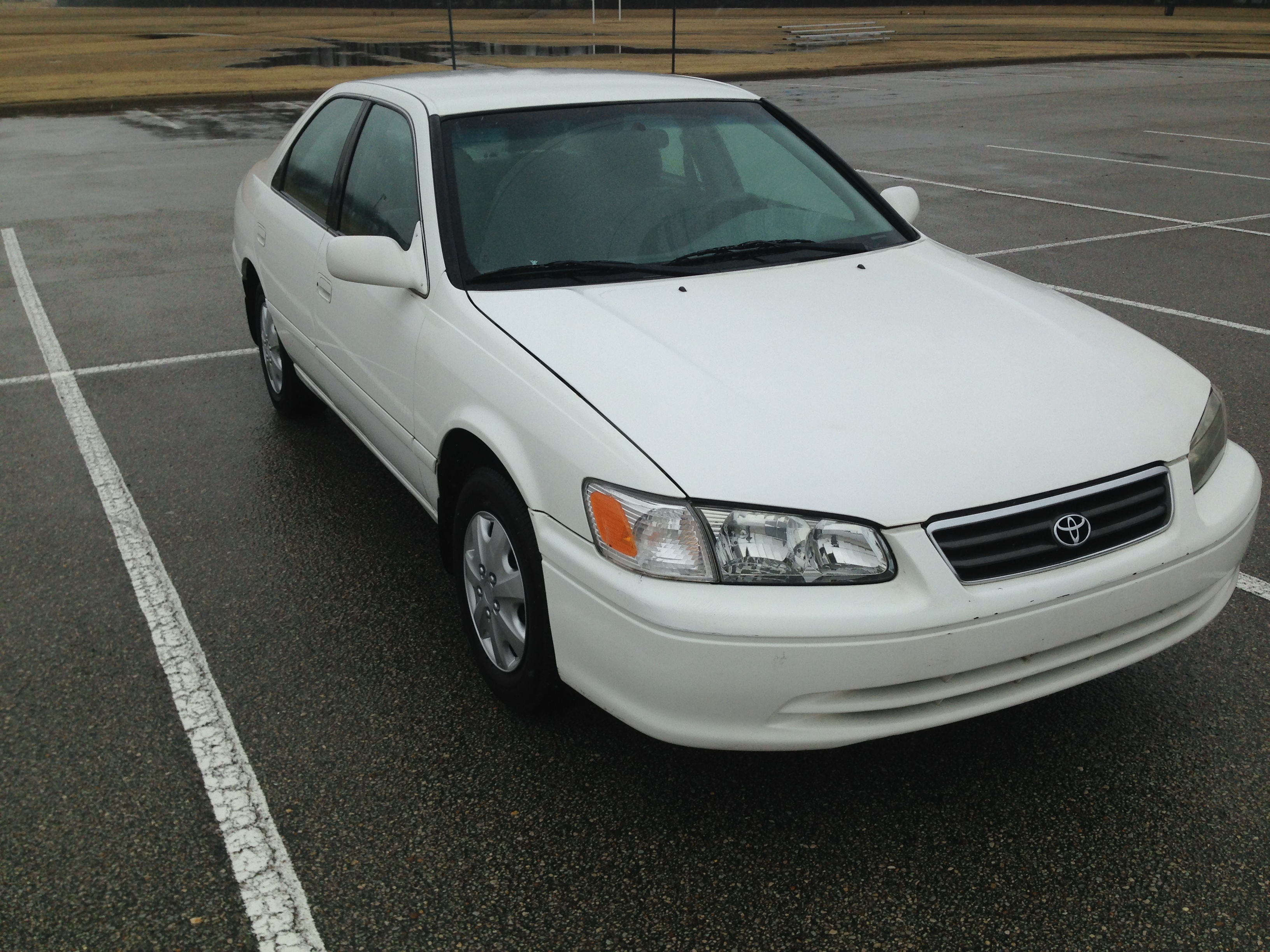 2014 Silver Camry >> White 2000 Toyota Camry (SOLD) | J & L Auto Sales