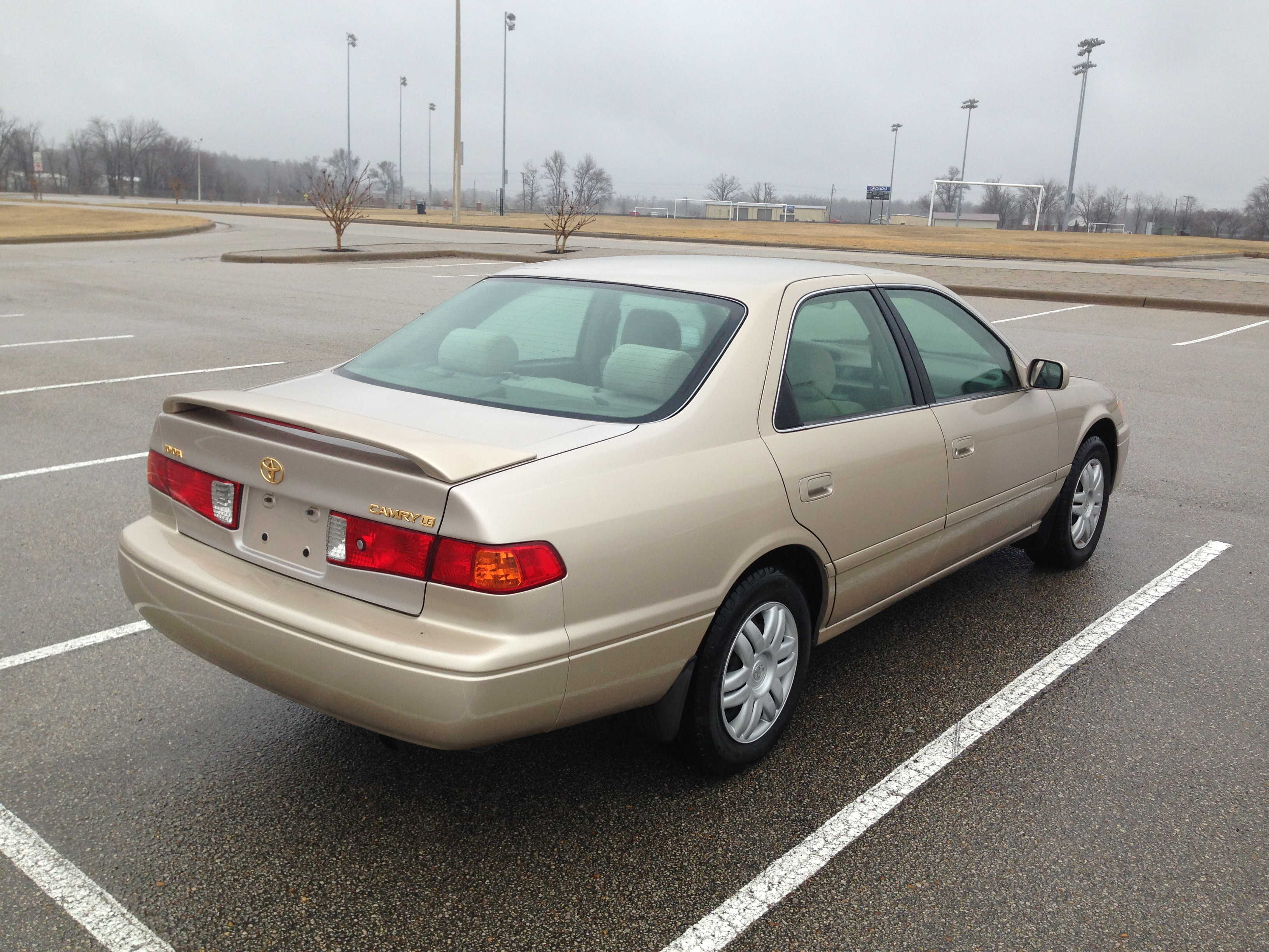 Gold 2000 Toyota Camry Sold J Amp L Auto Sales