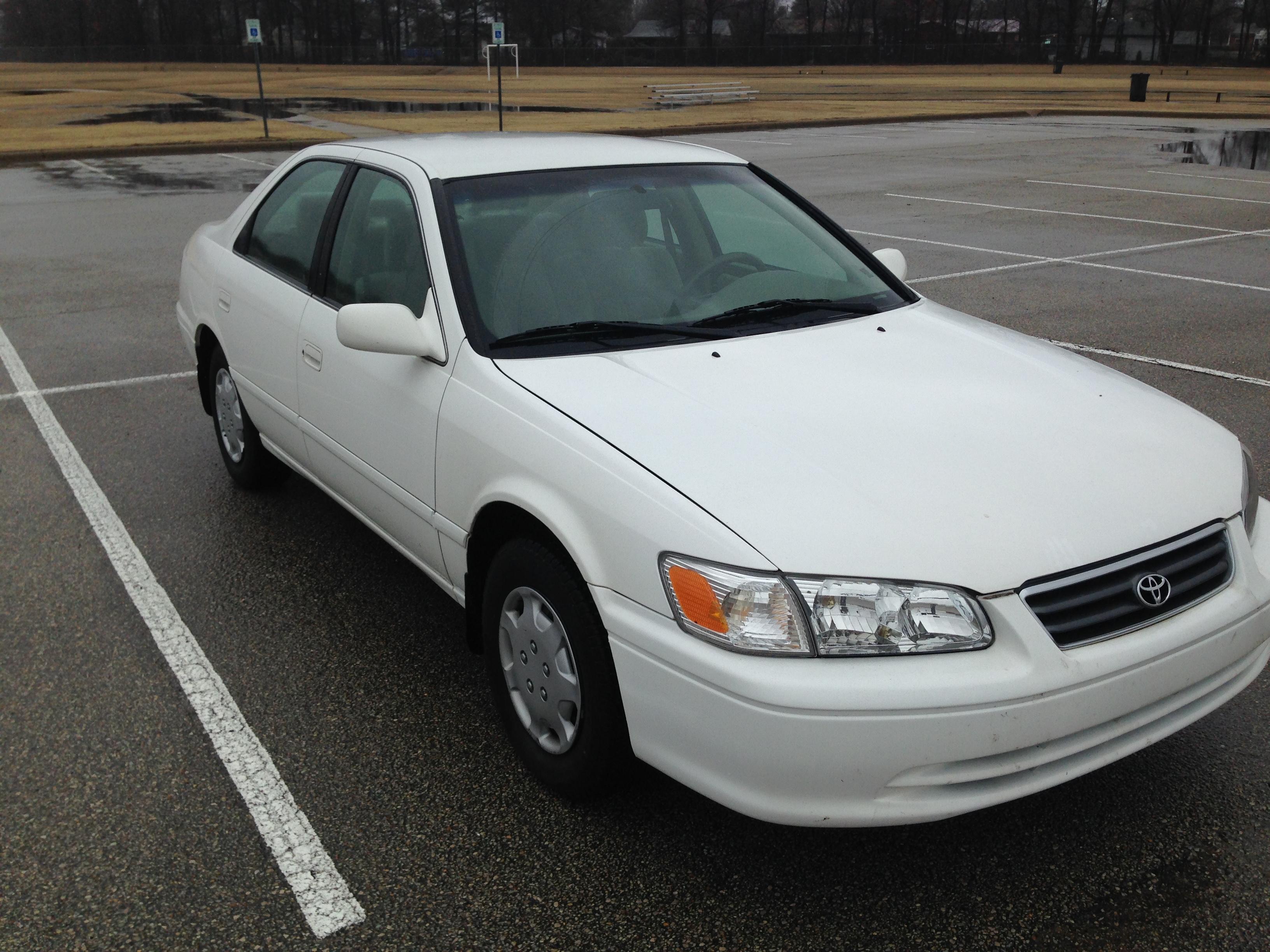 White 2000 Toyota Camry J Amp L Auto Sales