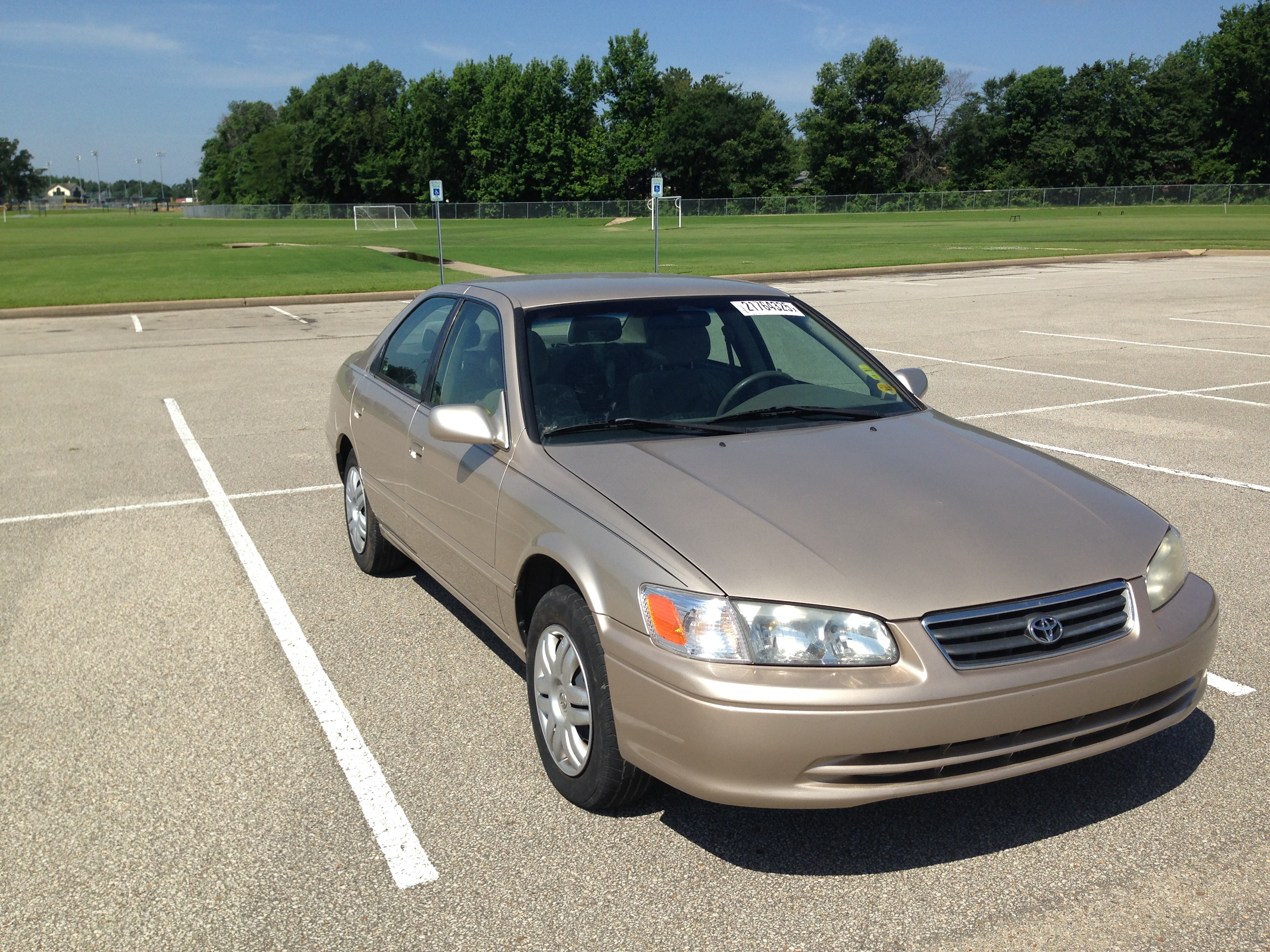 gold 2001 toyota camry sold j l auto sales. Black Bedroom Furniture Sets. Home Design Ideas