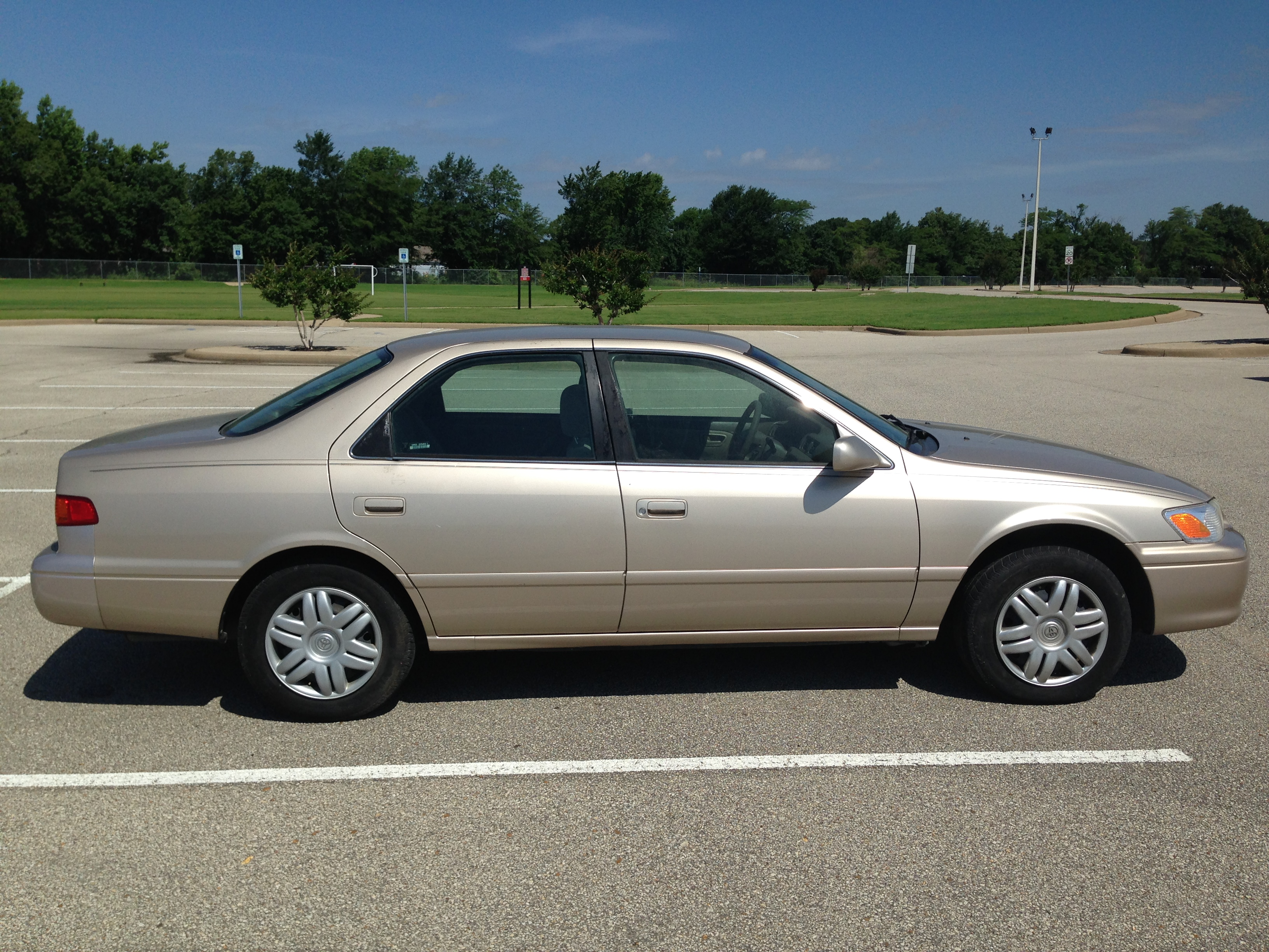 Gold 2001 Toyota Camry Sold J Amp L Auto Sales