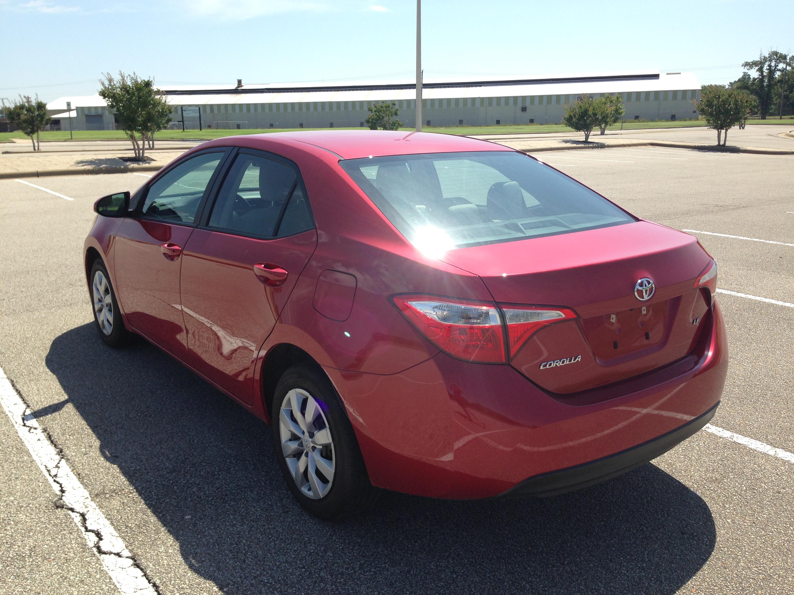 red 2014 toyota corolla j amp l auto sales