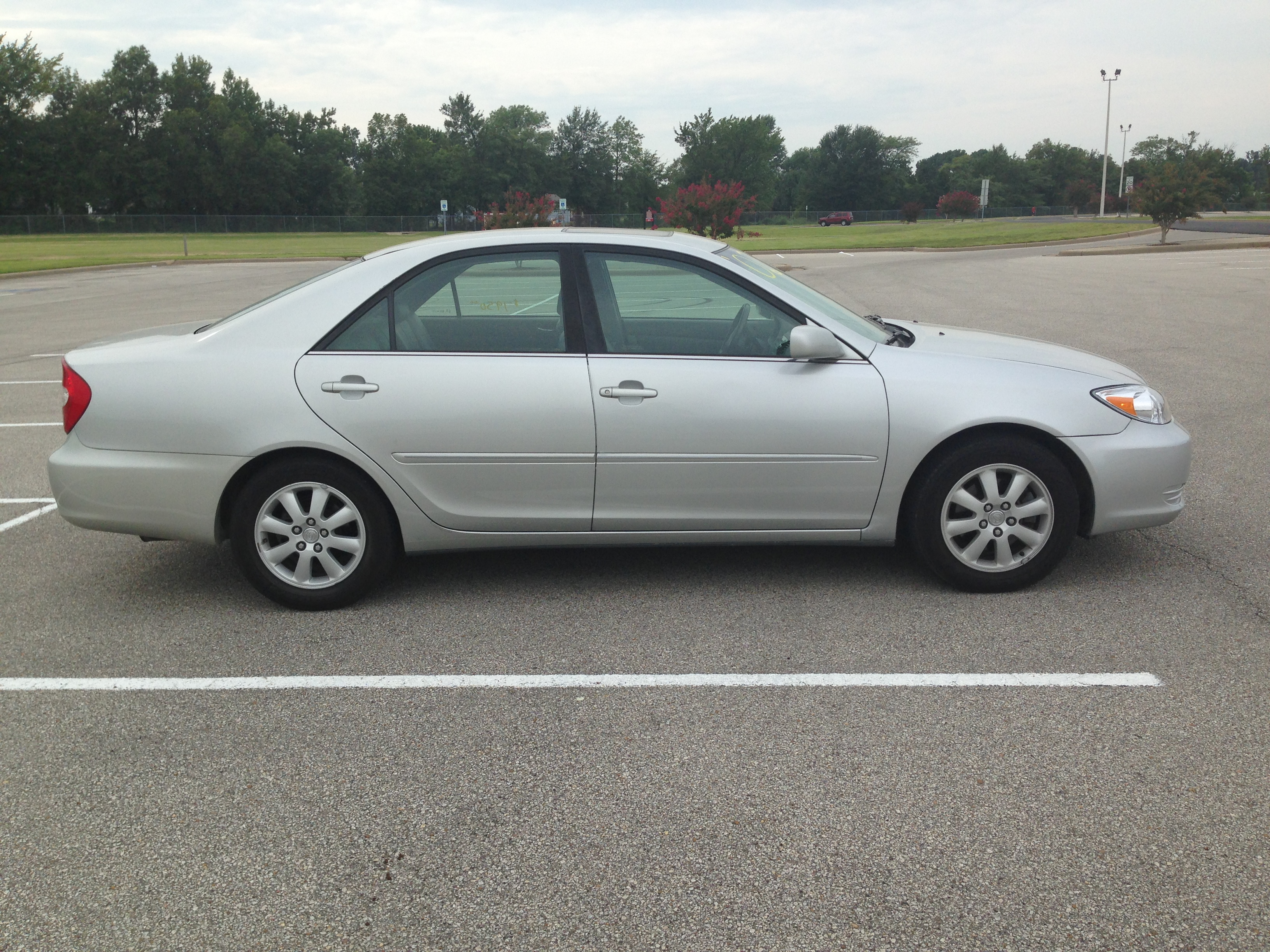Silver 2002 Toyota Camry Sold J Amp L Auto Sales