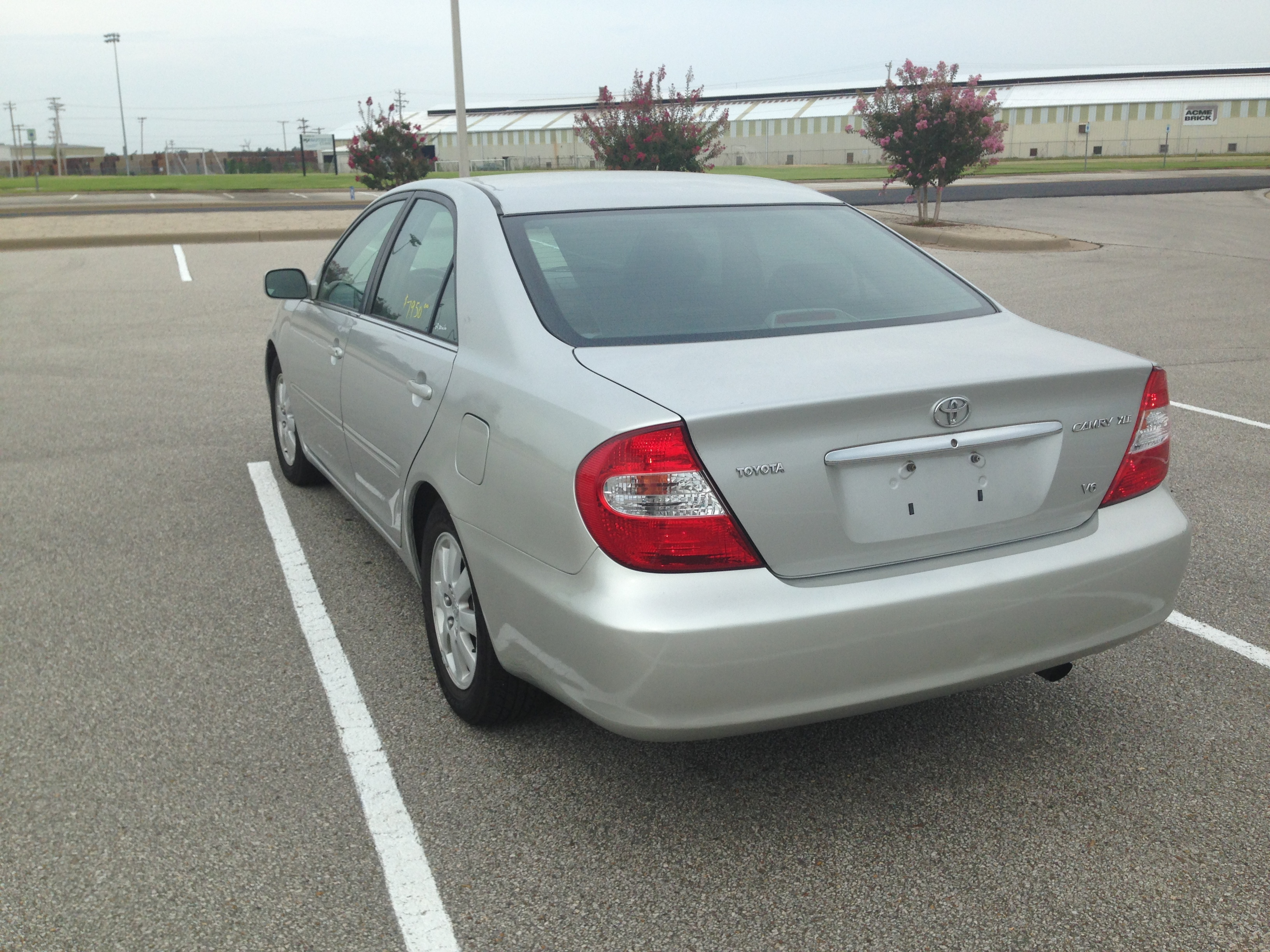 Silver 2002 Toyota Camry (SOLD) | J & L Auto Sales