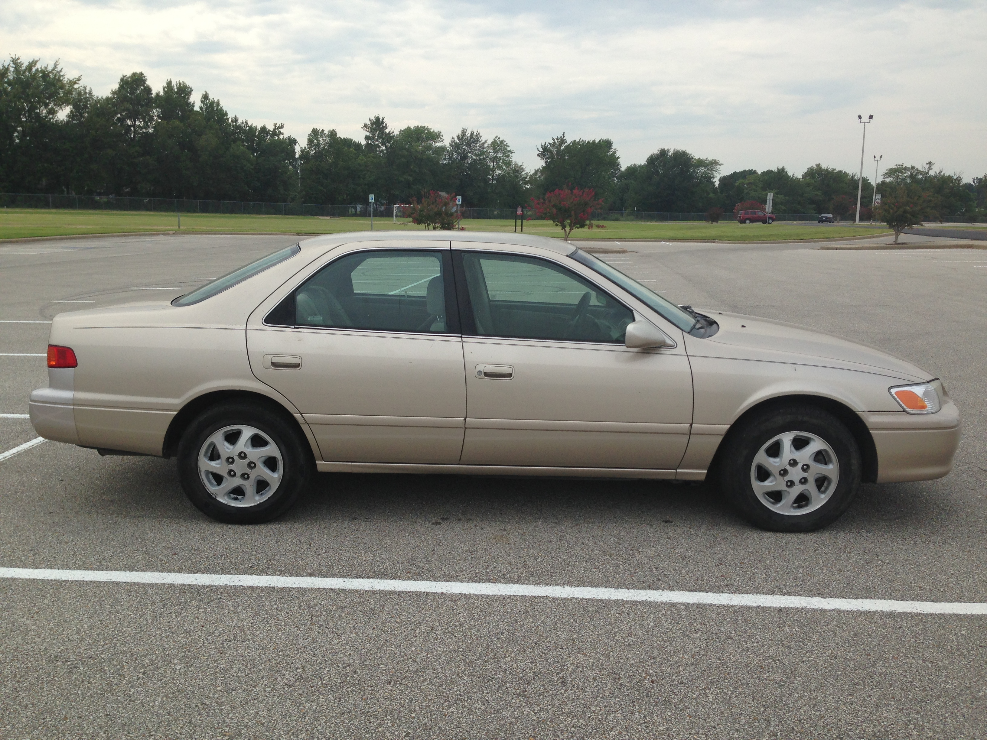 Gold 2001 Toyota Camry J Amp L Auto Sales