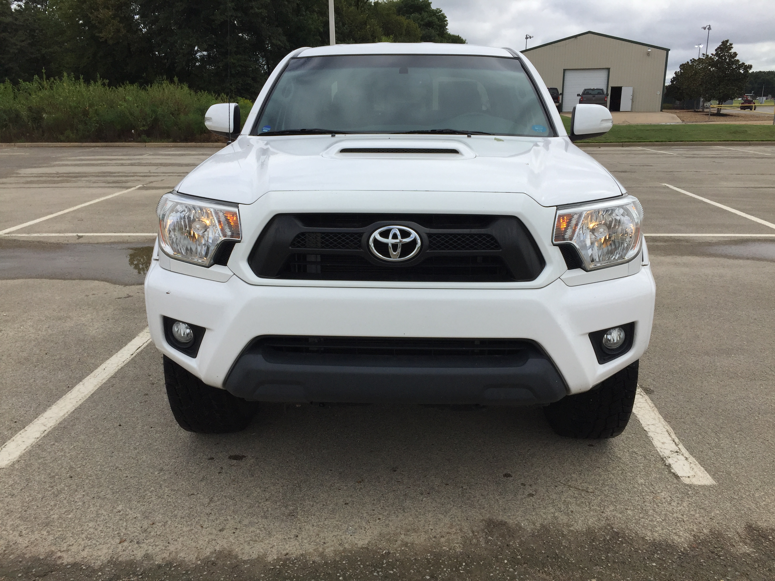 SOLD-White  2012 Toyota Tacoma